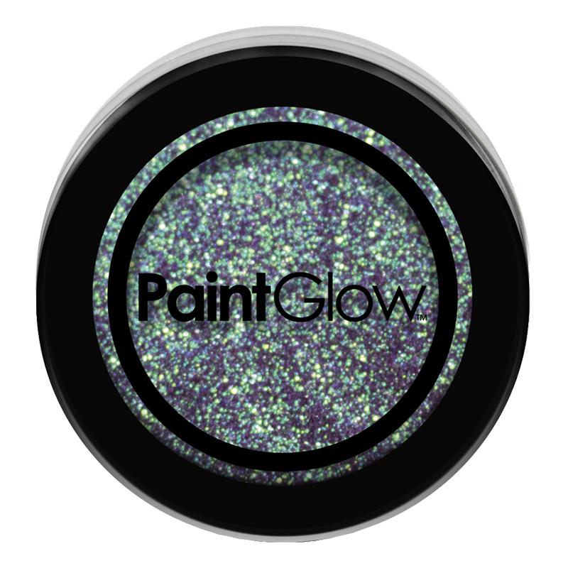 PaintGlow Nagelglitter - Cyan