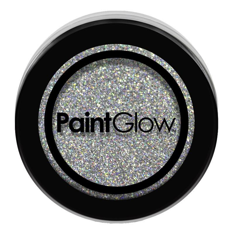 PaintGlow Nagelglitter - Silver