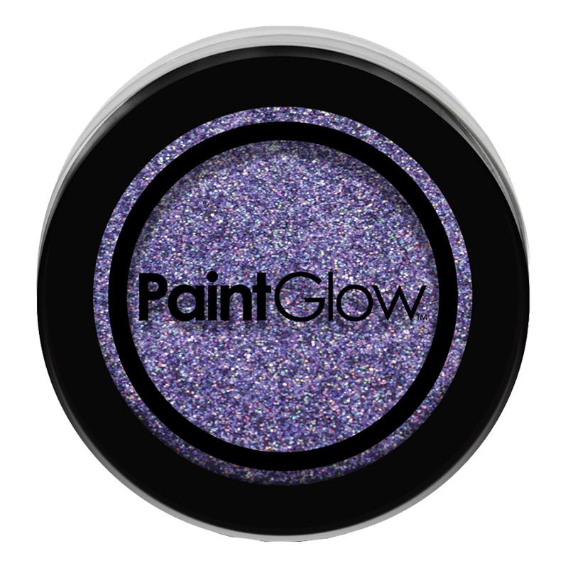 PaintGlow Nagelglitter - Violet