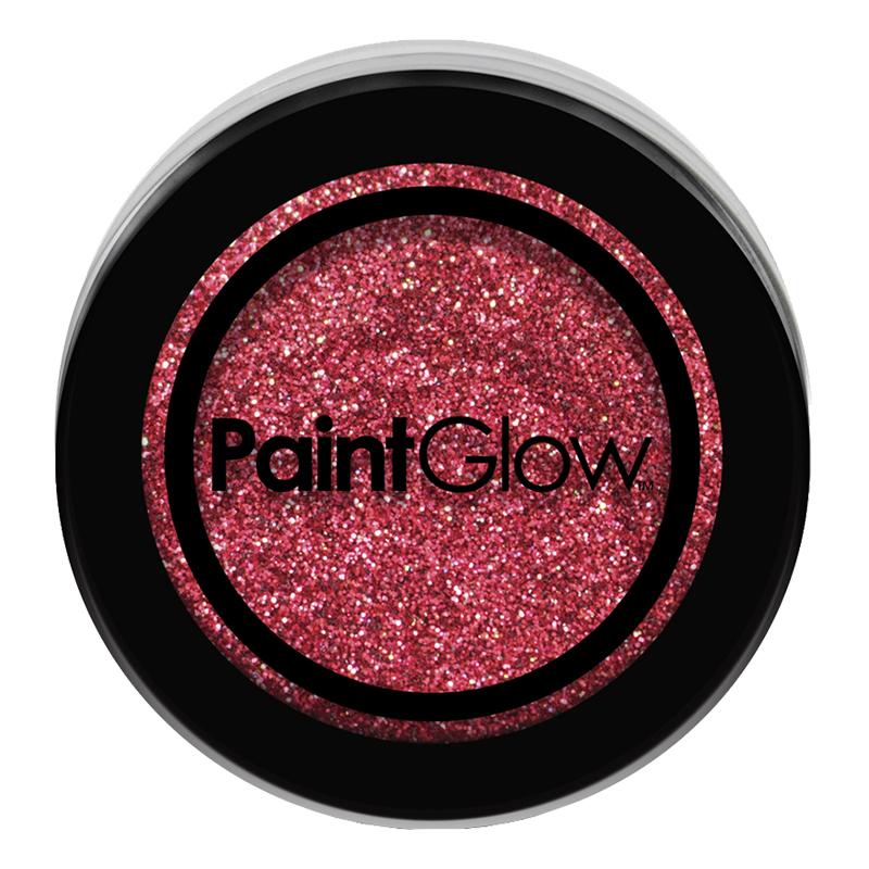PaintGlow Nagelglitter - Röd