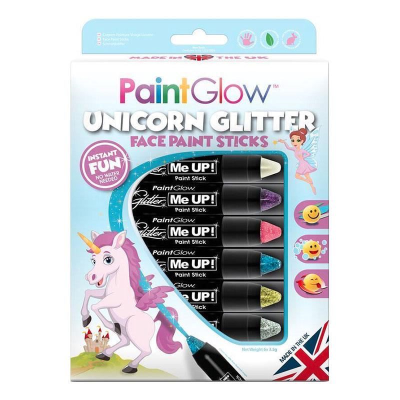 PaintGlow Unicorn Glitter Sminkpennor