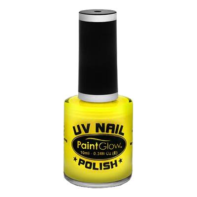 PaintGlow UV Neon Nagellack - Gul