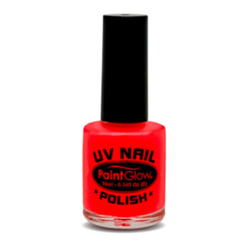 PaintGlow UV Neon Nagellack - Röd