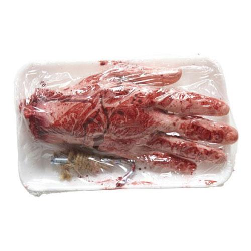 Paketerad Avhuggen Hand