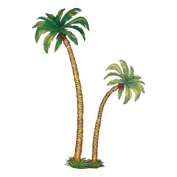 Palmträd i Papp