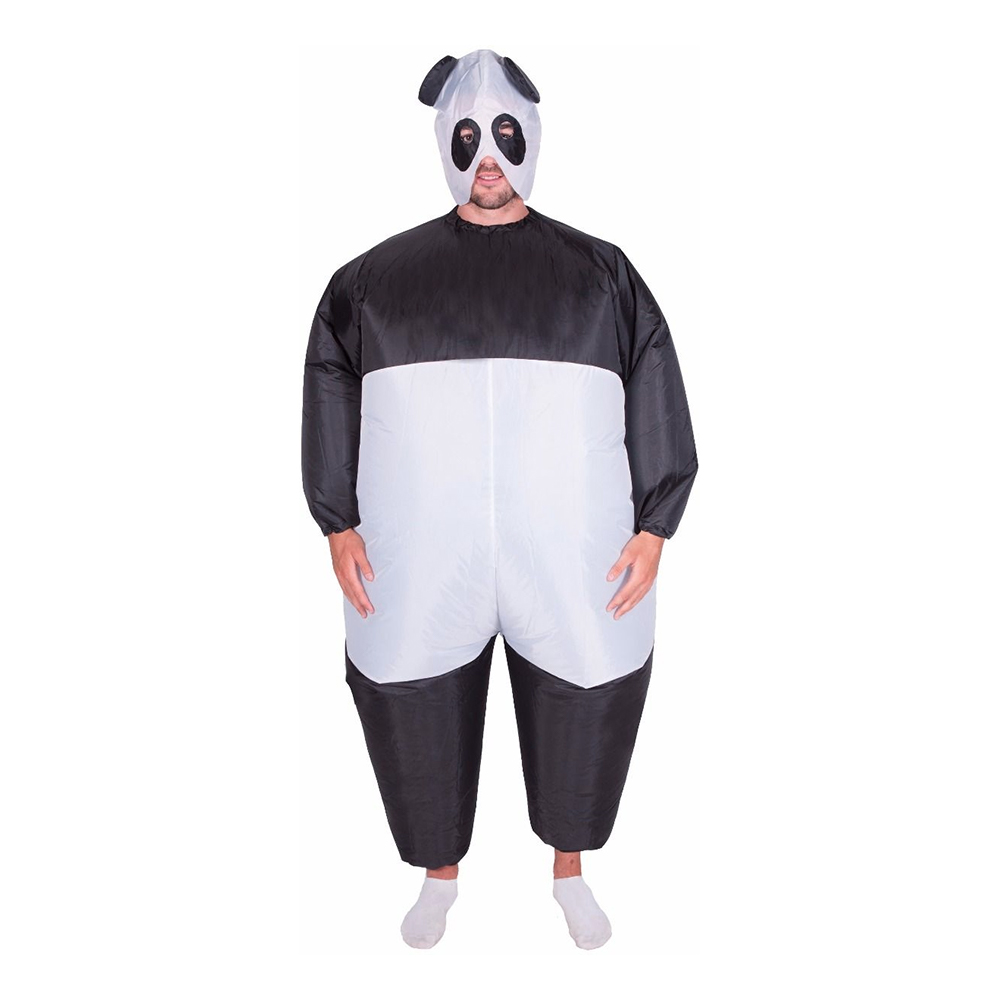 Panda Uppblåsbar Maskeraddräkt - One size