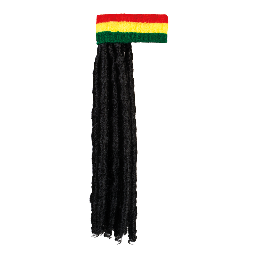 Pannband med Dreadlocks - One size
