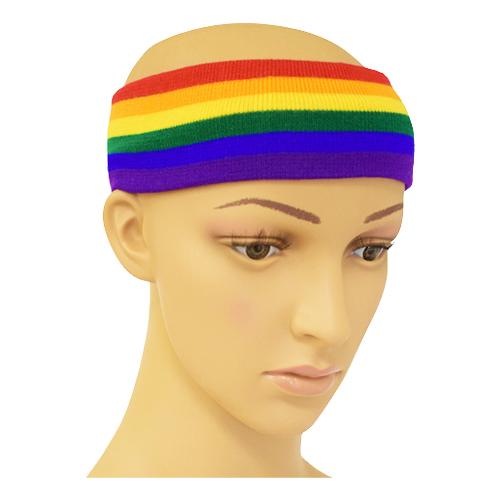 Pannband Regnbågsfärgat - One size