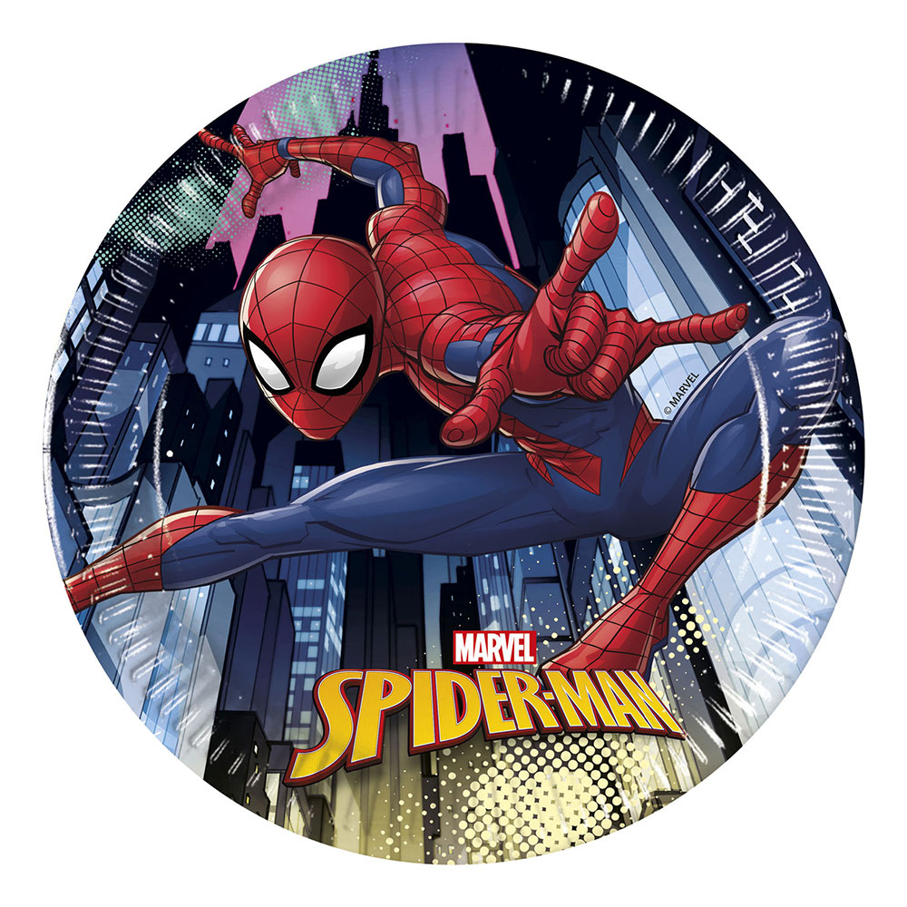Pappersassietter Spider-Man - 8-pack