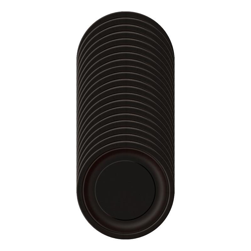 Pappersassietter Svarta - 20-pack