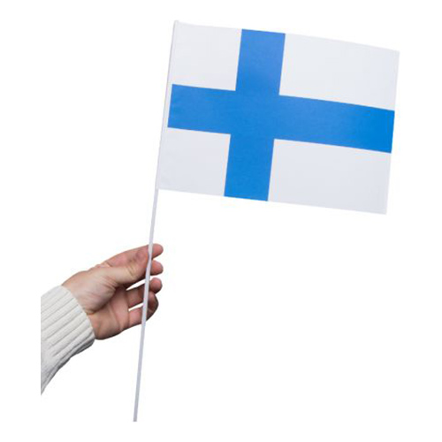 Pappersflagga Finland - 1-pack
