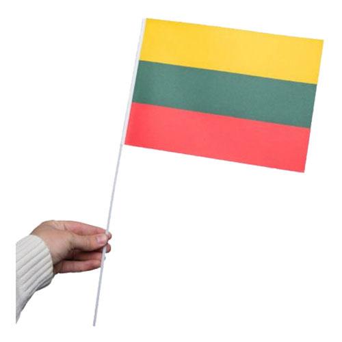 Pappersflagga Litauen - 1-pack