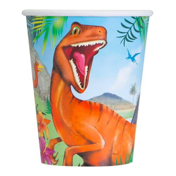 Pappersmuggar Dinosaurie - 8-pack