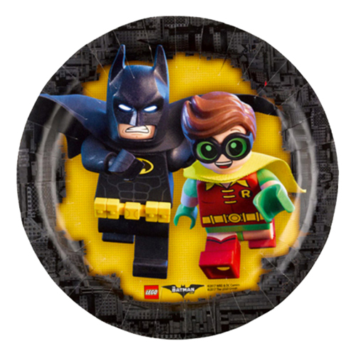 Pappersassietter Lego Batman - 8-pack