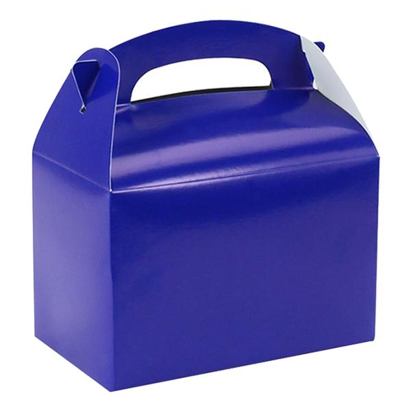 Partybox i Papp Mörkblå