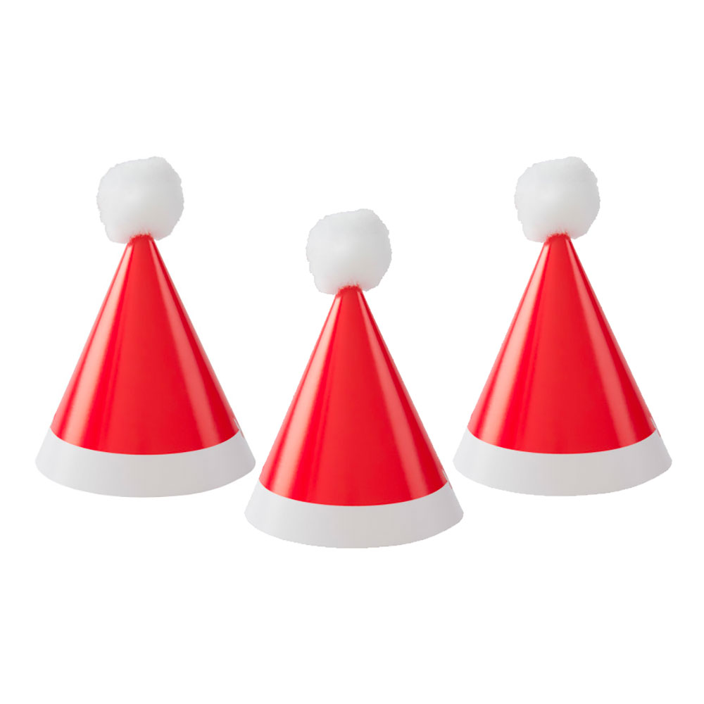 Partyhattar Tomteluvor Mini - 8-pack 360ae25a04db2
