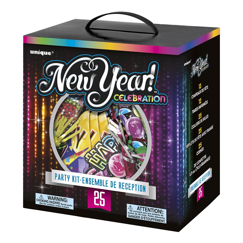Partykit Nyår Celebration - För 25 personer