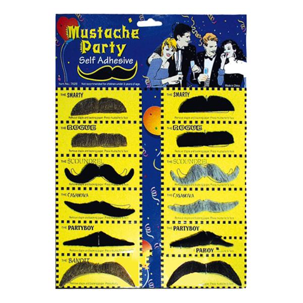 Partymustascher - Mix