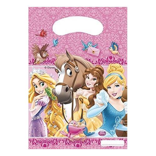 Partypåse Disney Prinsessor - 6-pack