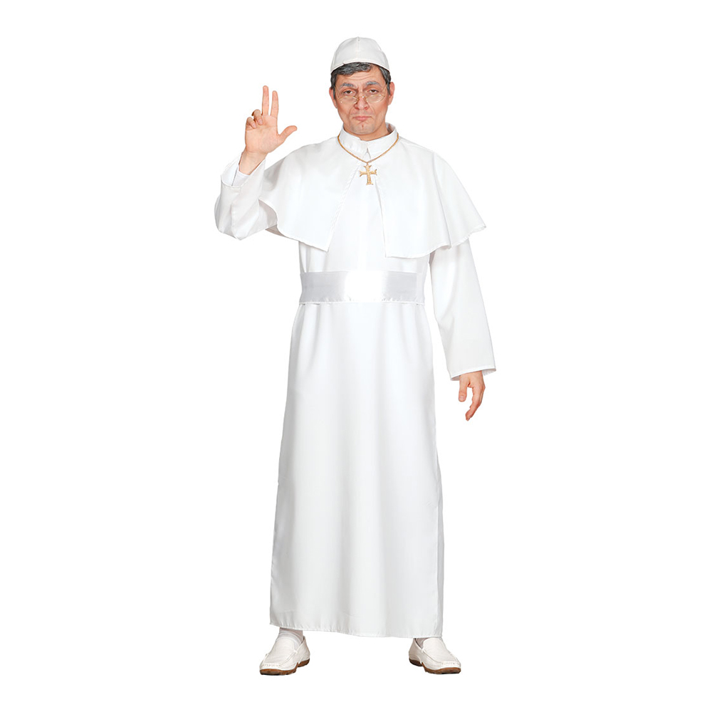Påve Franciskus Maskeraddräkt - Medium
