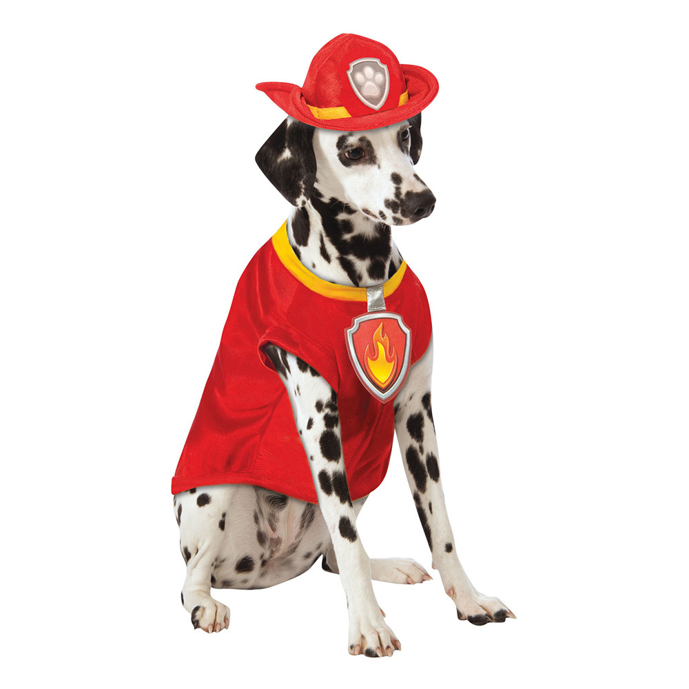 Paw Patrol Hunden Marshall Hund Maskeraddräkt - Small