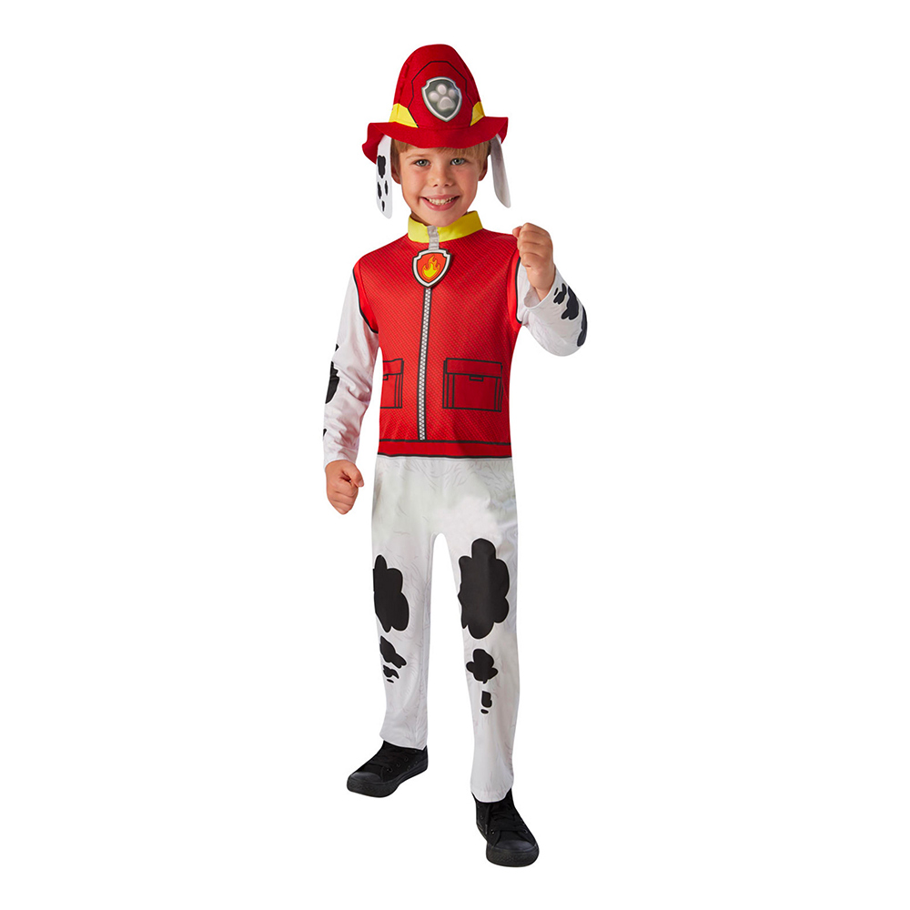 Paw Patrol Marshall Barn Maskeraddräkt - Small