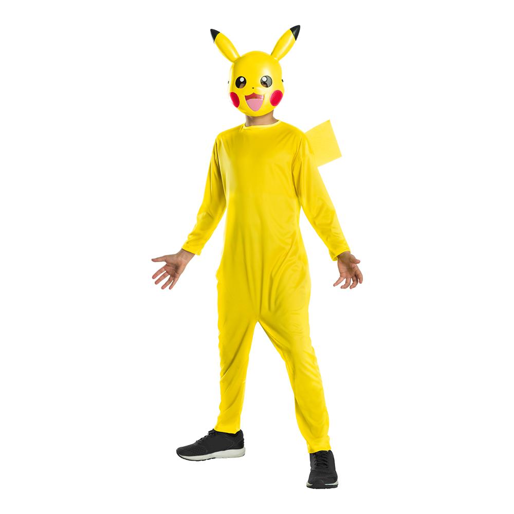 Pikachu Barn Maskeraddräkt - Small