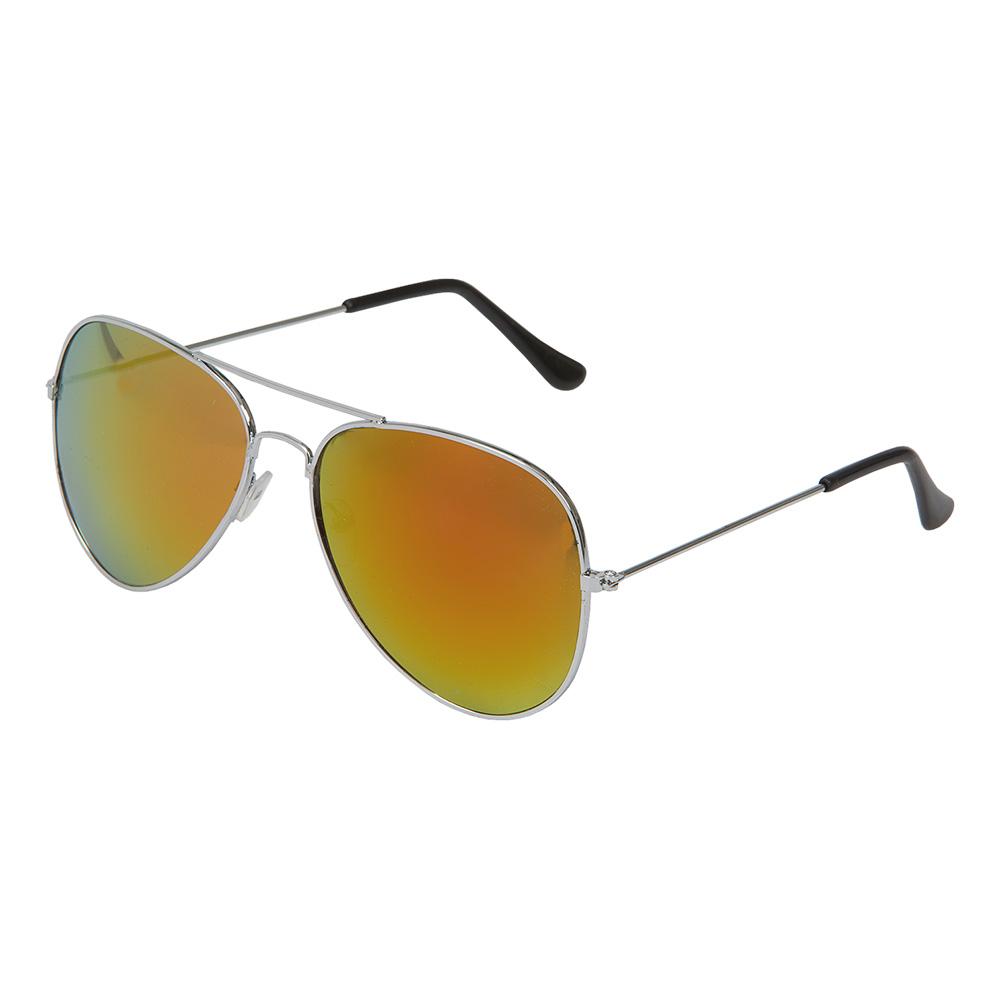 Pilotglasögon Spegelglas Orange