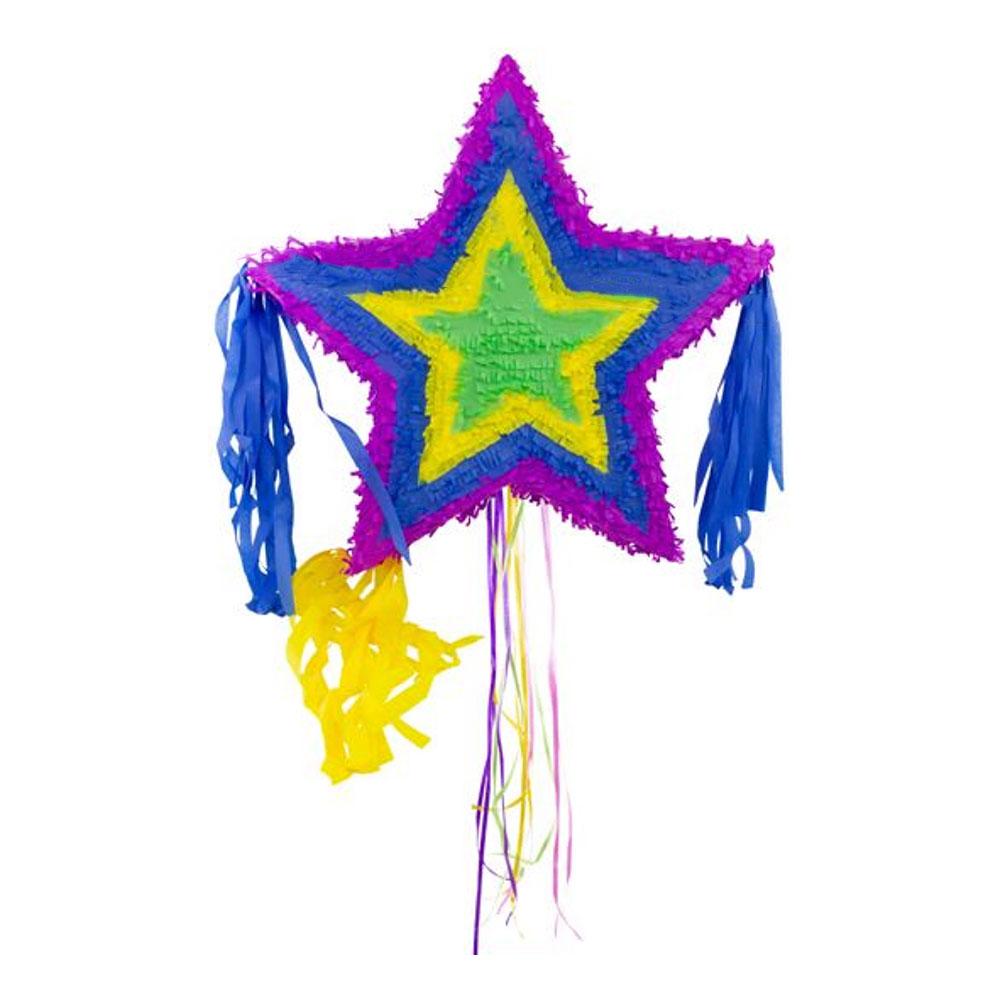 Pinata Stjärna Flerfärgad