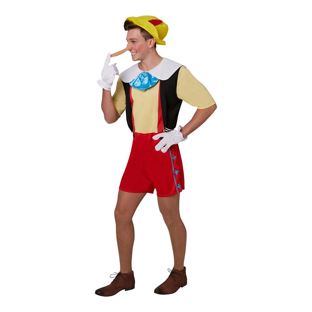 Pinocchio Deluxe Maskeraddräkt - Standard