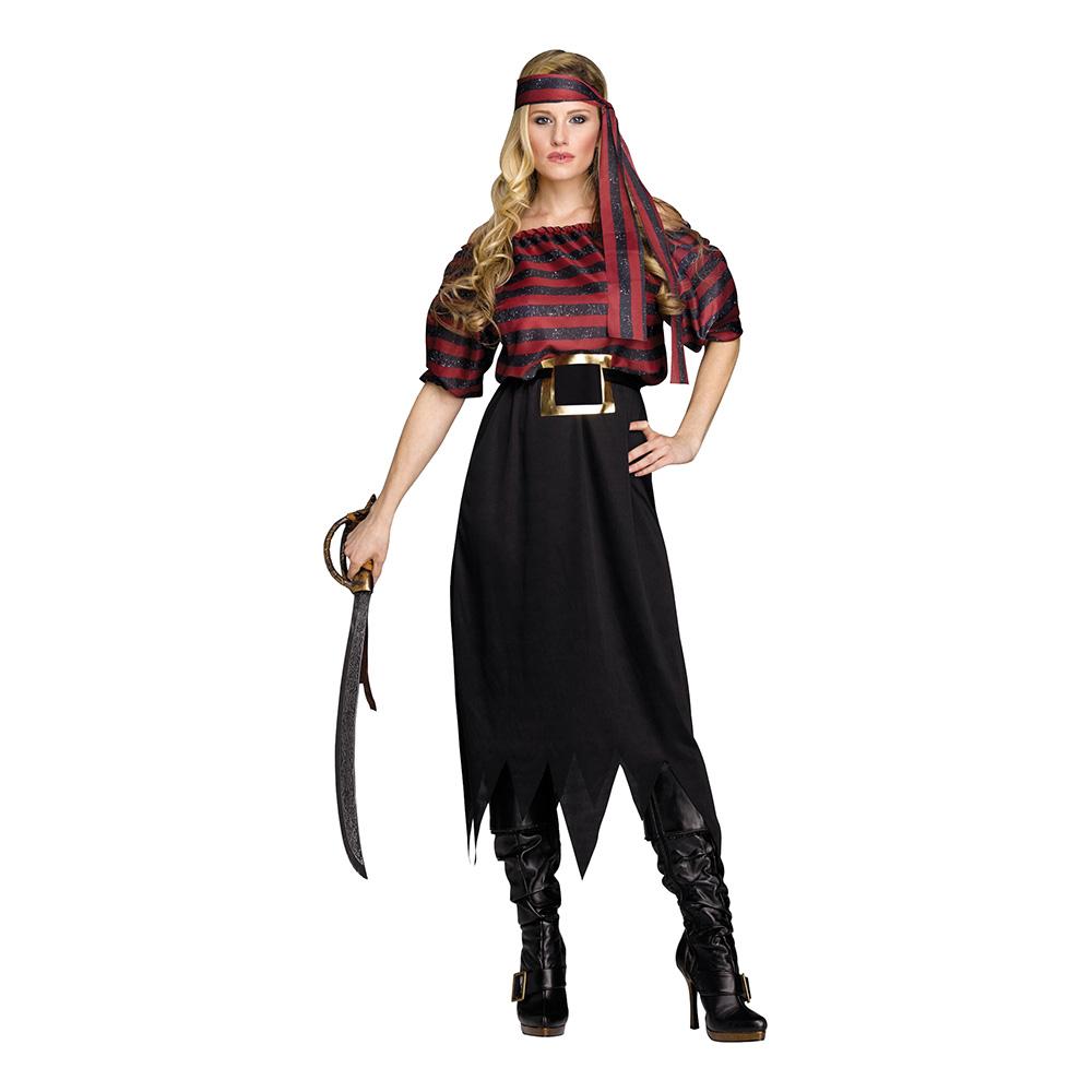 Pirat Jungfru Maskeraddräkt - One size