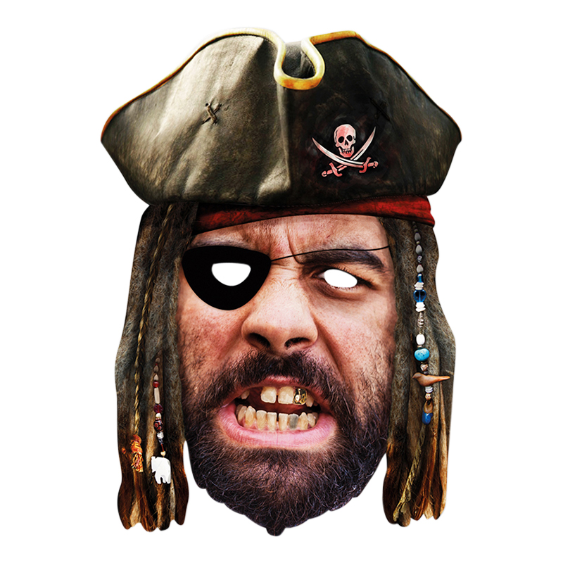 Pirat Pappmask