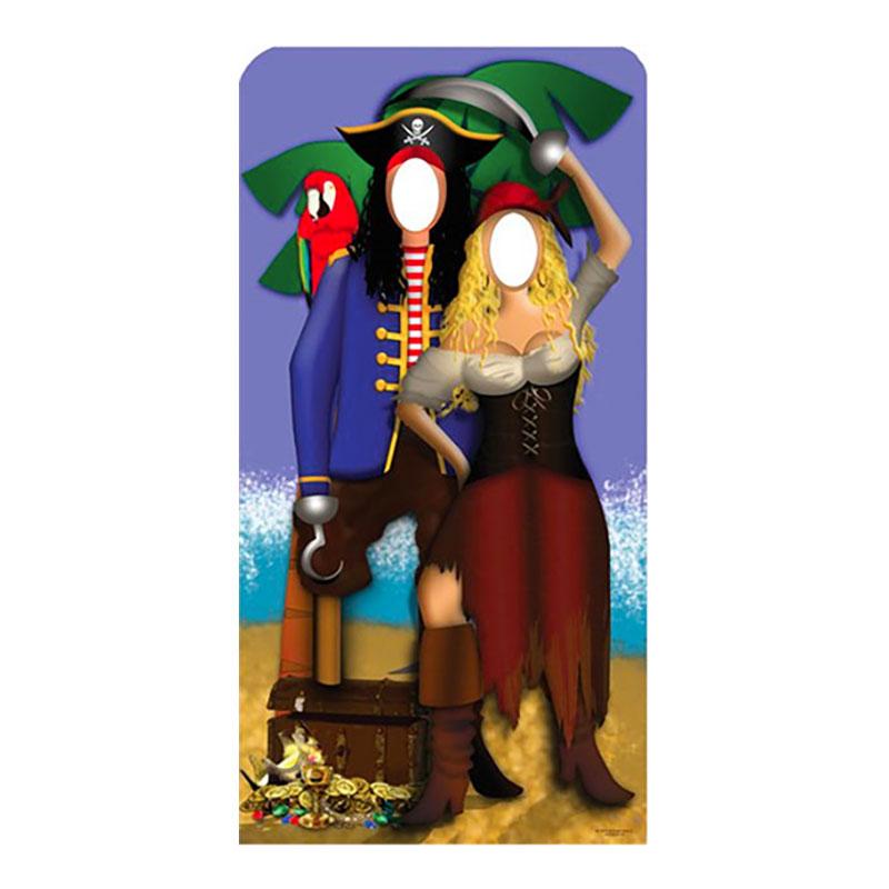 Pirat Par Stand-In Kartongvägg