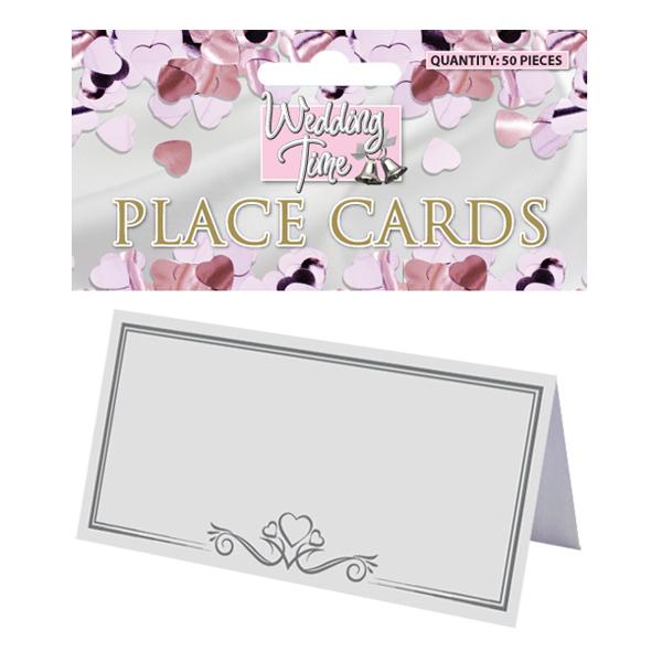 Placeringskort Festprylar till bröllop - 50-pack