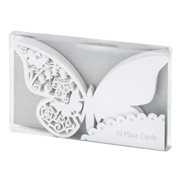 Placeringskort Fjärilar - 10-pack