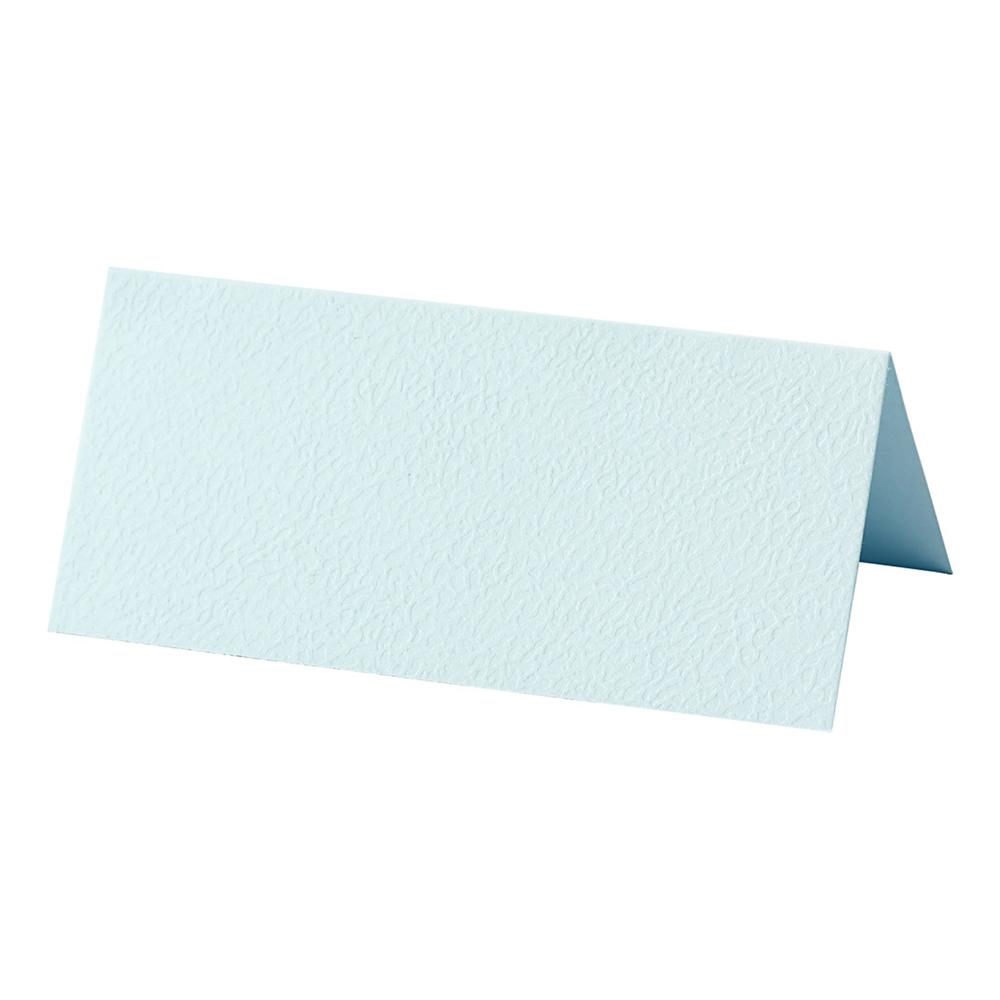 Placeringskort Ljusblå - 25-pack