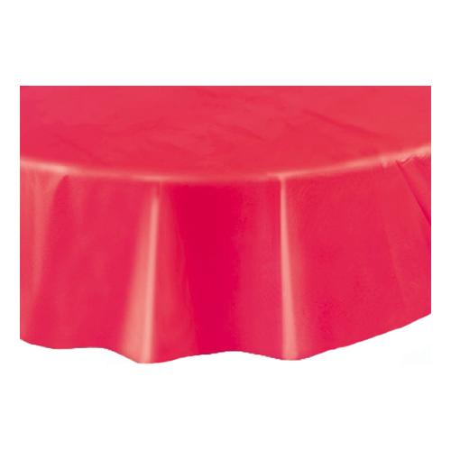 Plastduk Rund Röd