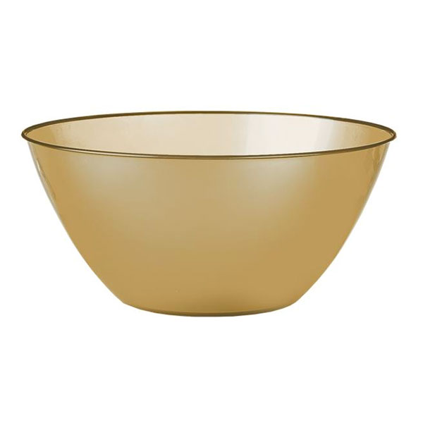 Plastskål Guld Liten - 1,8 liter