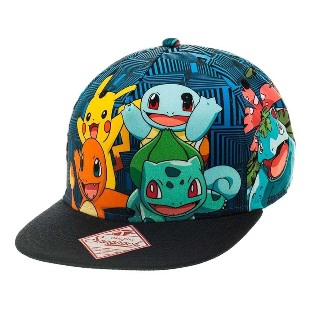 Pokemon Friends Snapback Keps - One size