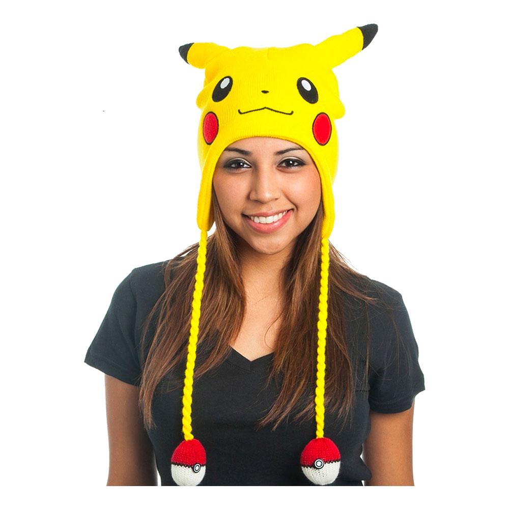 Pokemon Pikachu Lappmössa - One size
