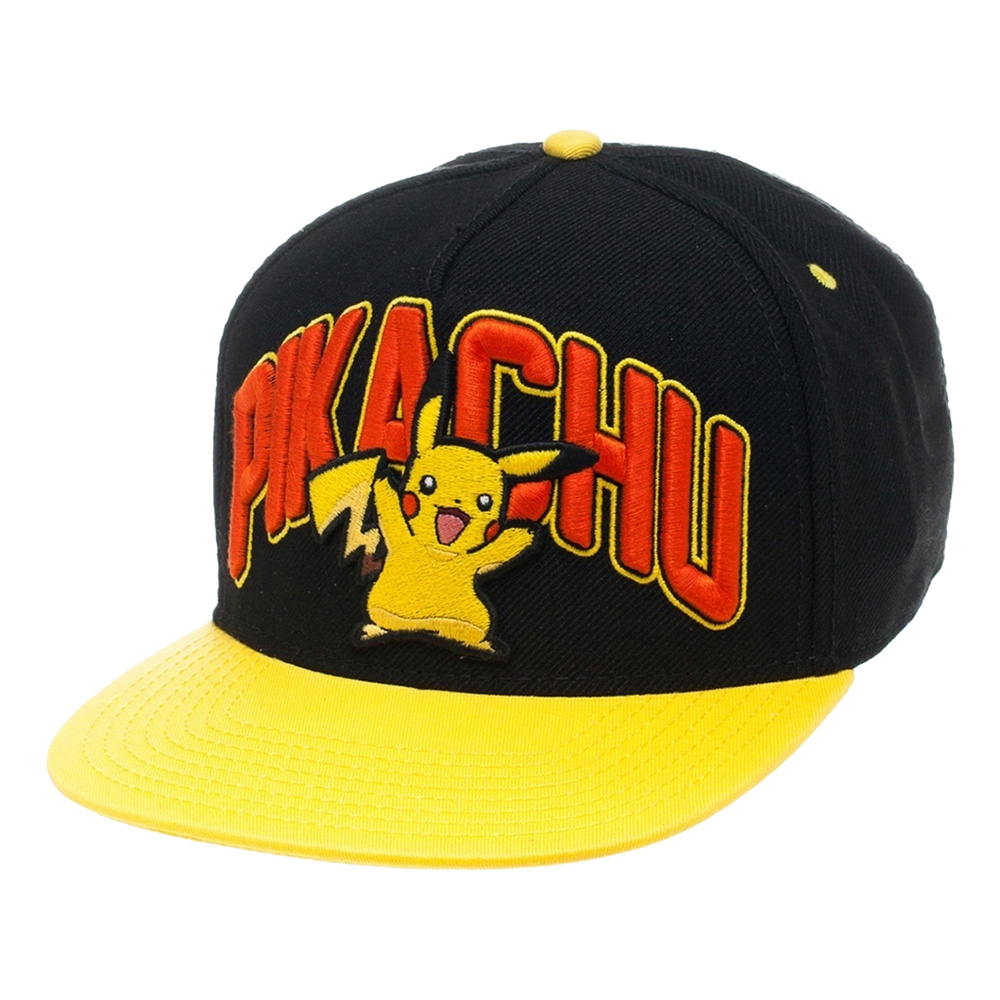 Pokemon Pikachu Snapback Keps - One size