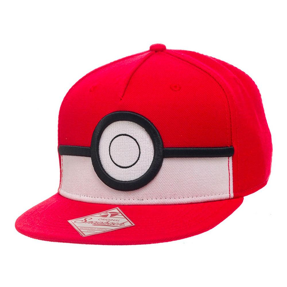 Pokemon Pokéball Snapback Keps - One size