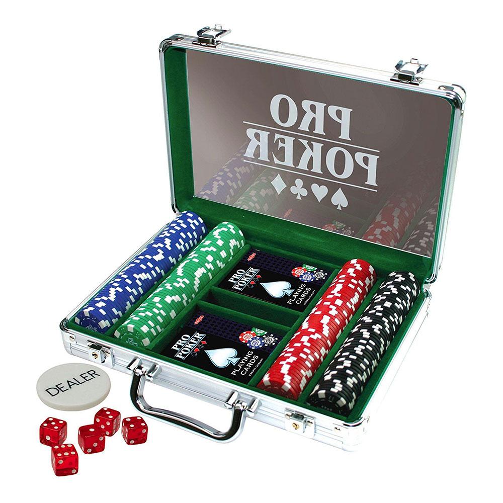 Pokerset i Aluminiumväska
