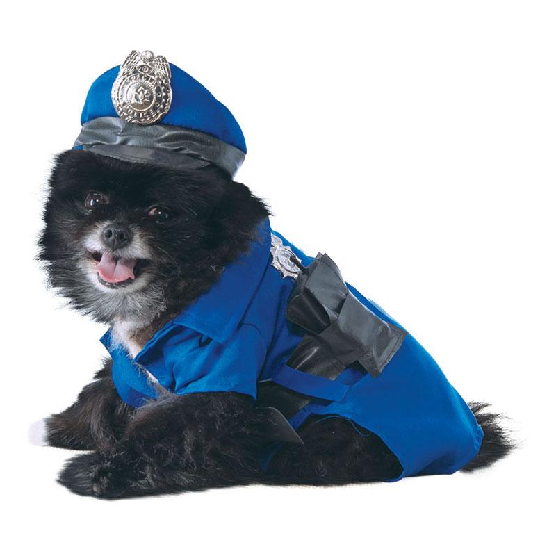Polis Hund Maskeraddräkt - Small