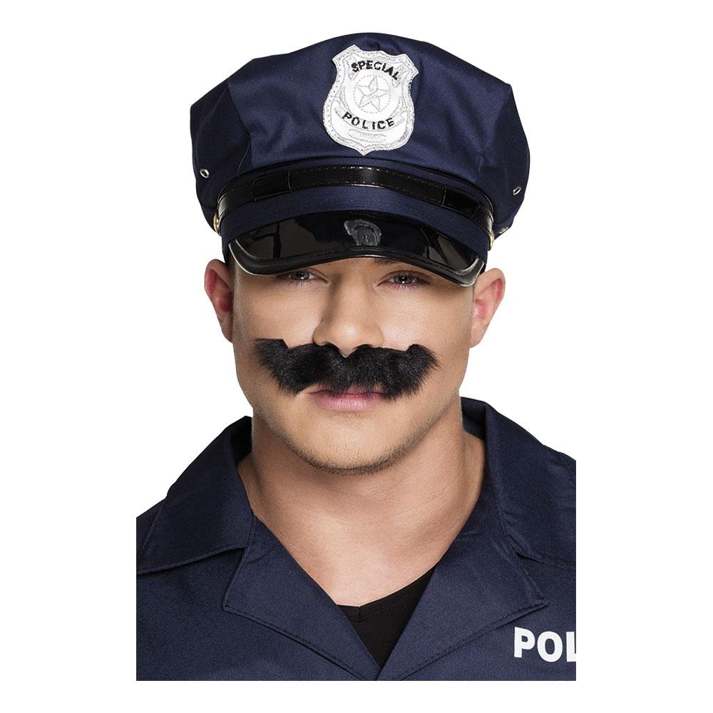 Polis Mustasch Svart