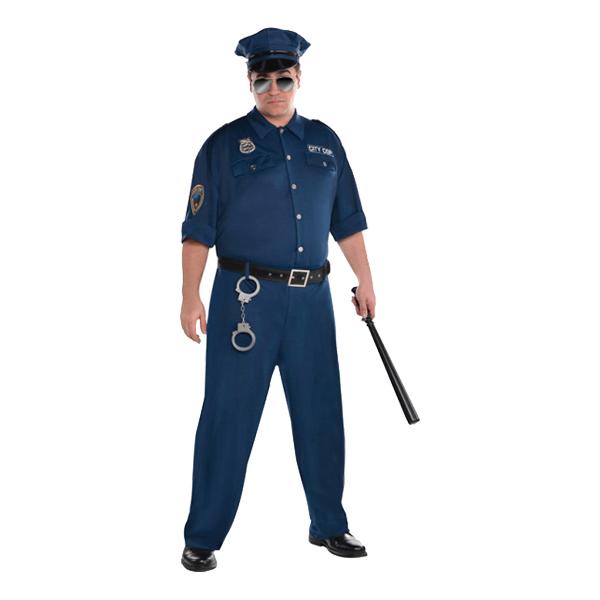 polisuniform maskerad sexiga underkläder xl