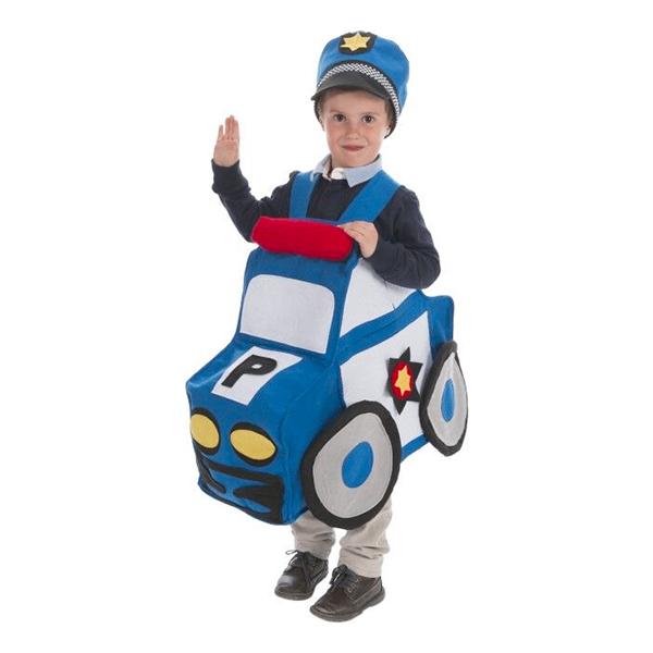 Polisbil Barn Maskeraddräkt
