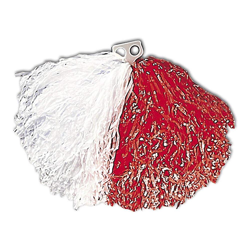 Pom Pom Vit/Röd - 1-pack