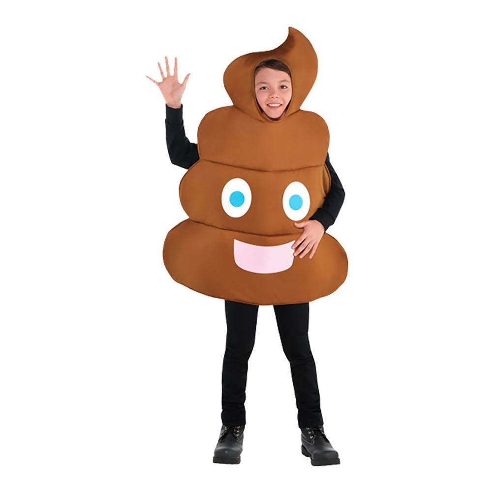 Poop Barn Maskeraddräkt - One size