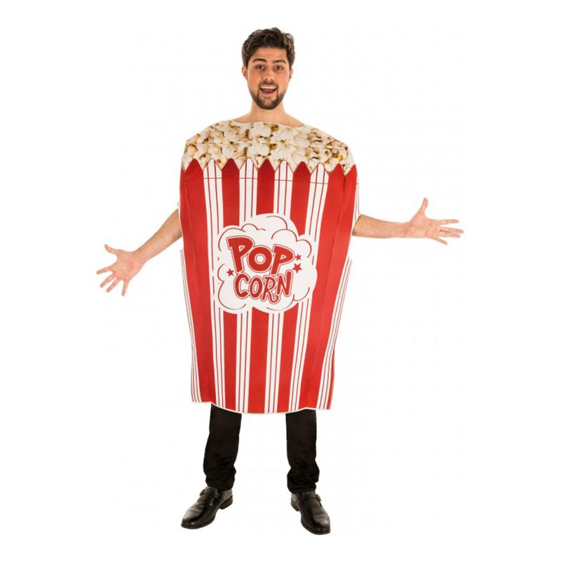 Popcorn Maskeraddräkt - One size